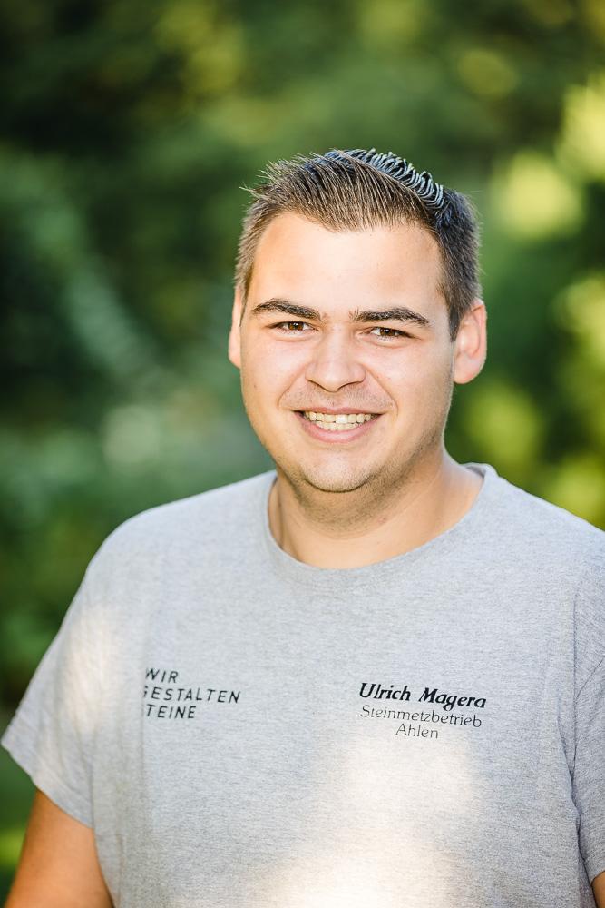 Fabian Kottmann Steinmetzbetrieb Ulrich Magera Ahlen Beckum Wadersloh